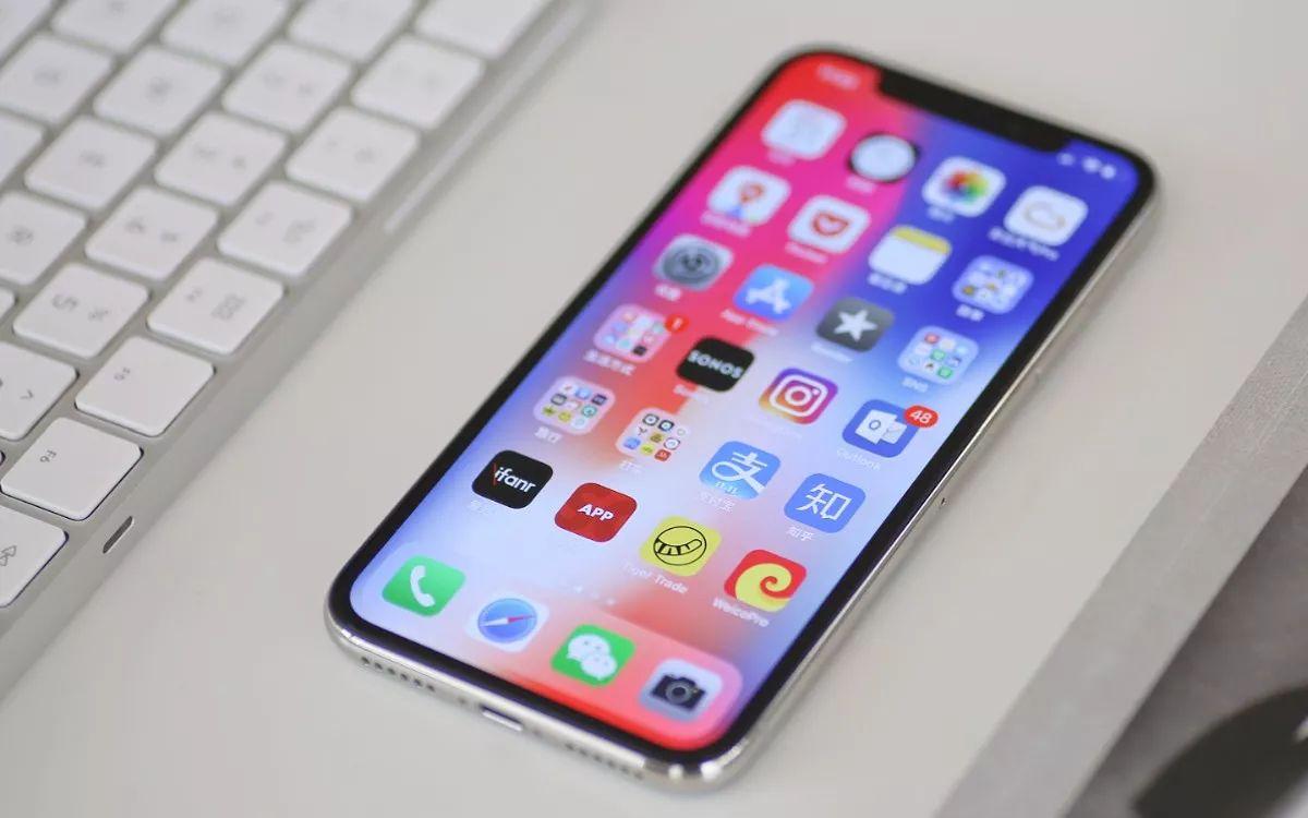 一张Iphone x的废旧手机回收图片