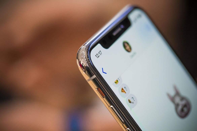 一台通过废旧手机回收的iphone x图片